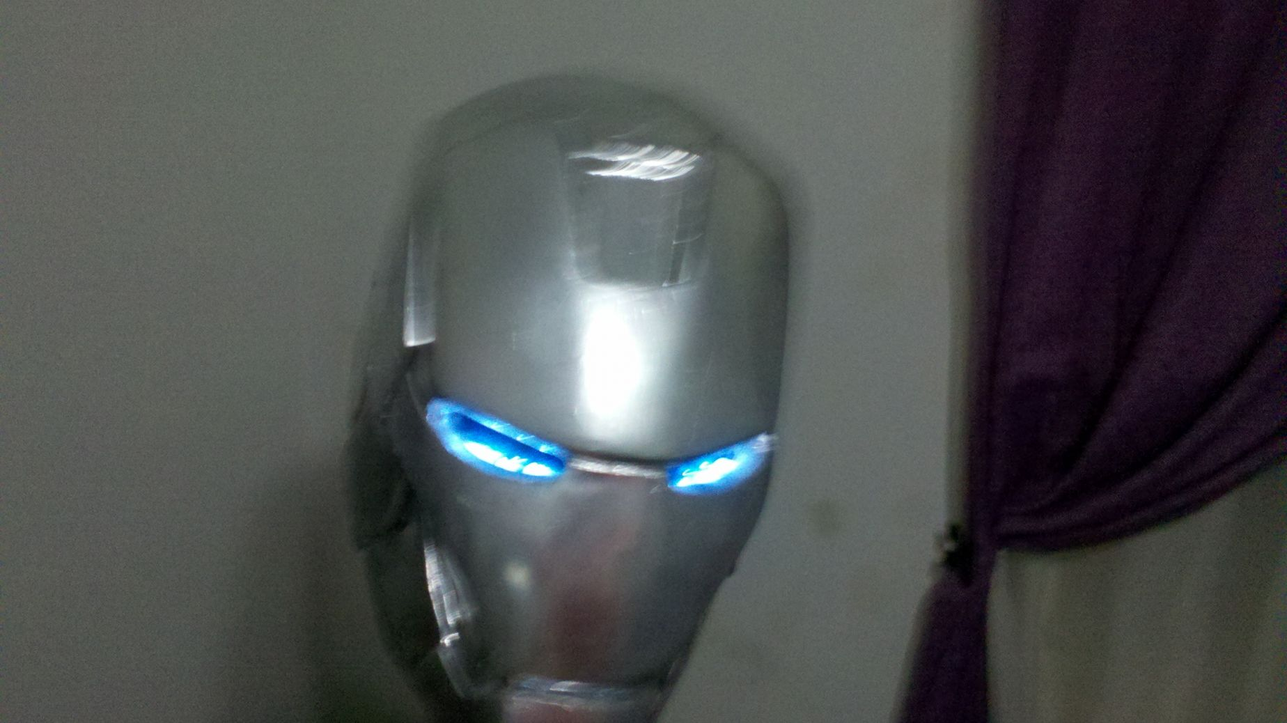 Mi Casco de Iron Man