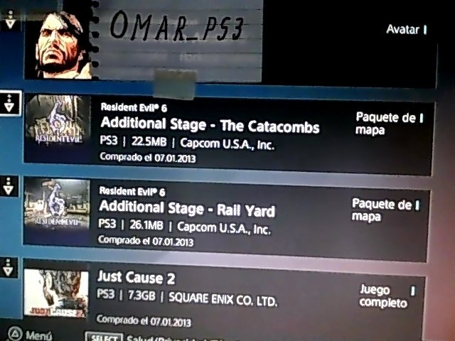 [Tengo] Black Ops 2 + RE6 + JC2 [Busco] Psn Card 20