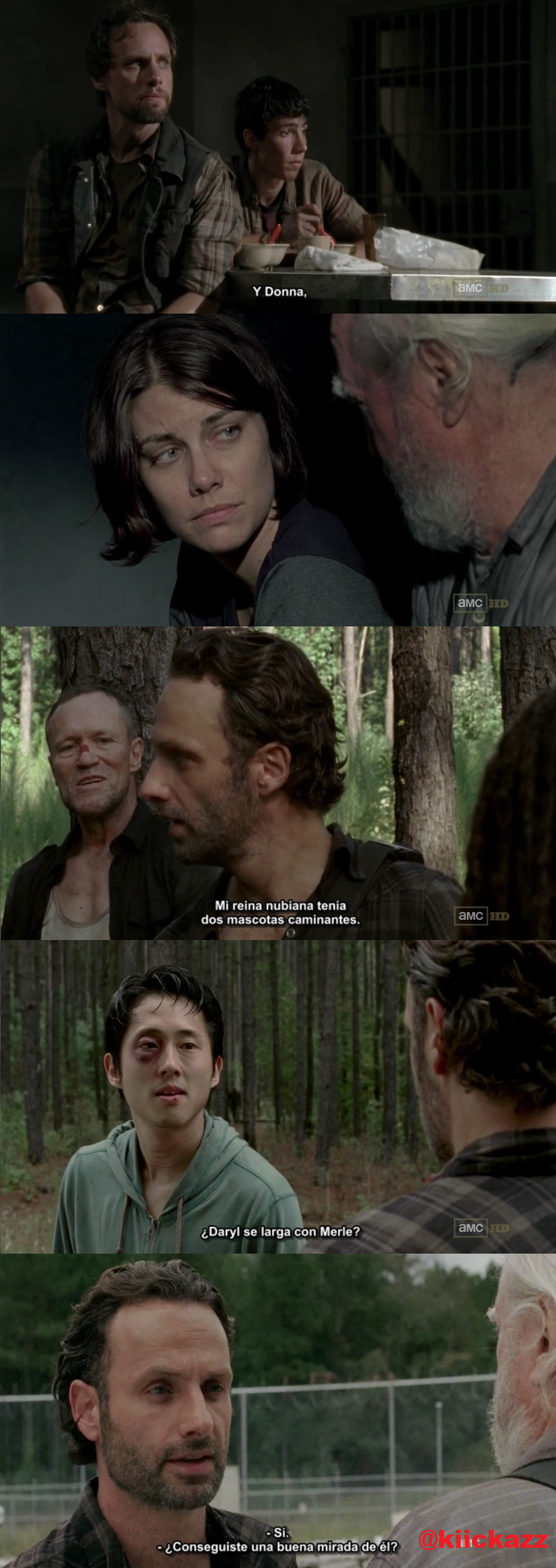 The walking Dead [3x9] [HDTV720p] [SubEsp]