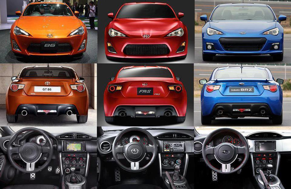 Thread: The differences between GT86/FRS/BRZ