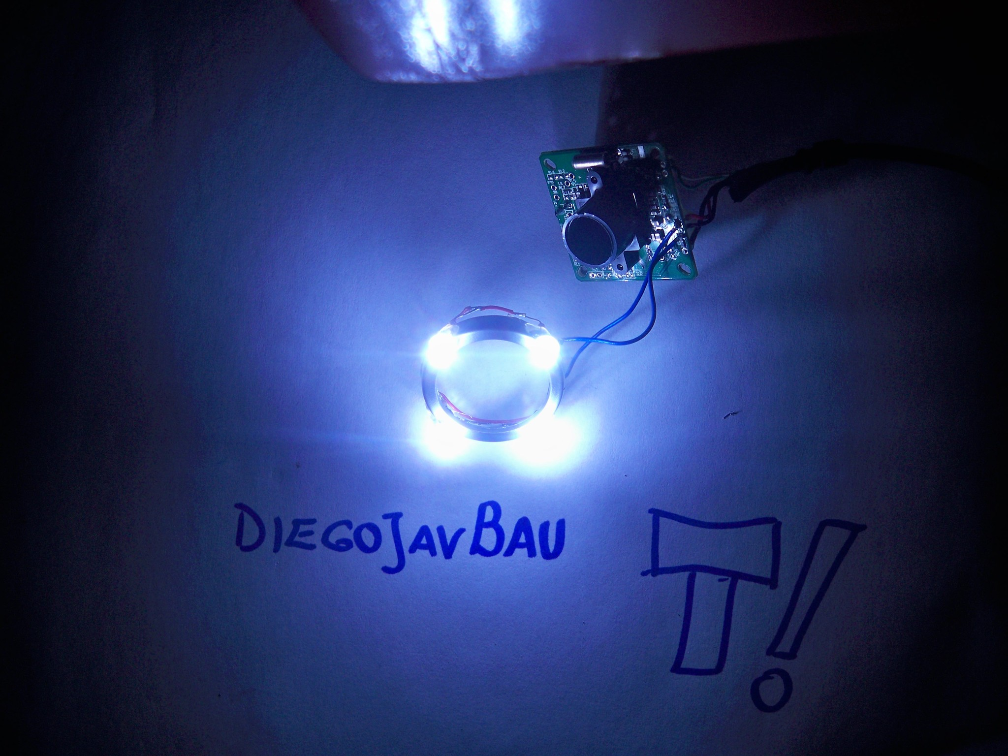 De webcam pedorra a microscopio USB (DIY propio)