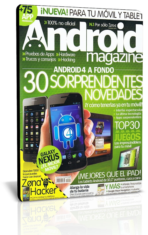 Coleccion Revistas Android Magazine 2012