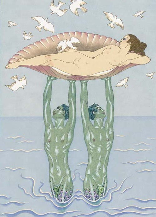 Aphrodite by George Barbier