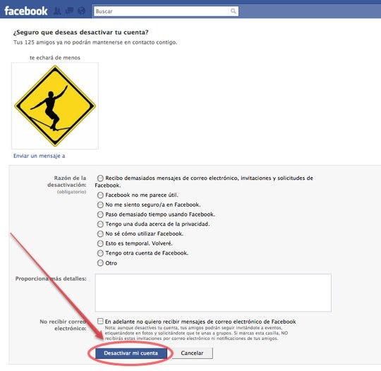 ¡Eliminar Facebook Permanentemente!