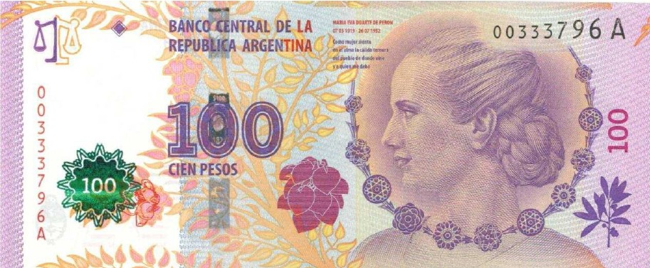 Reconocer Billete Falso de Evita