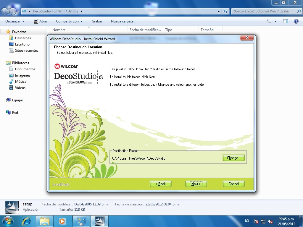 Wilcom DecoStudio e1 Full (Windows 7 32Bits)