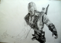 Assassin´s Creed 3 ~ Proceso...  #Arte #Art #AssassinsCreed3 #AC3