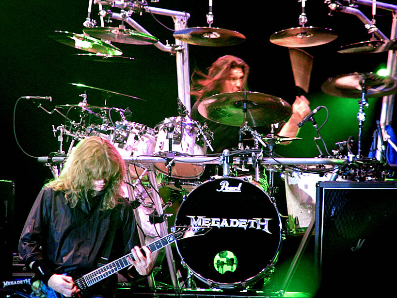 Megadeth - Rust In Peace Live Dvd + Cd De Estudio RS