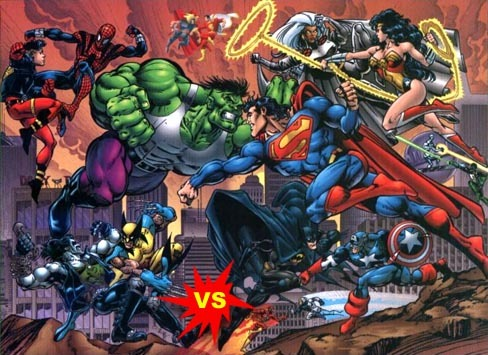 DC vs Marvel Comics Batalla Epica!