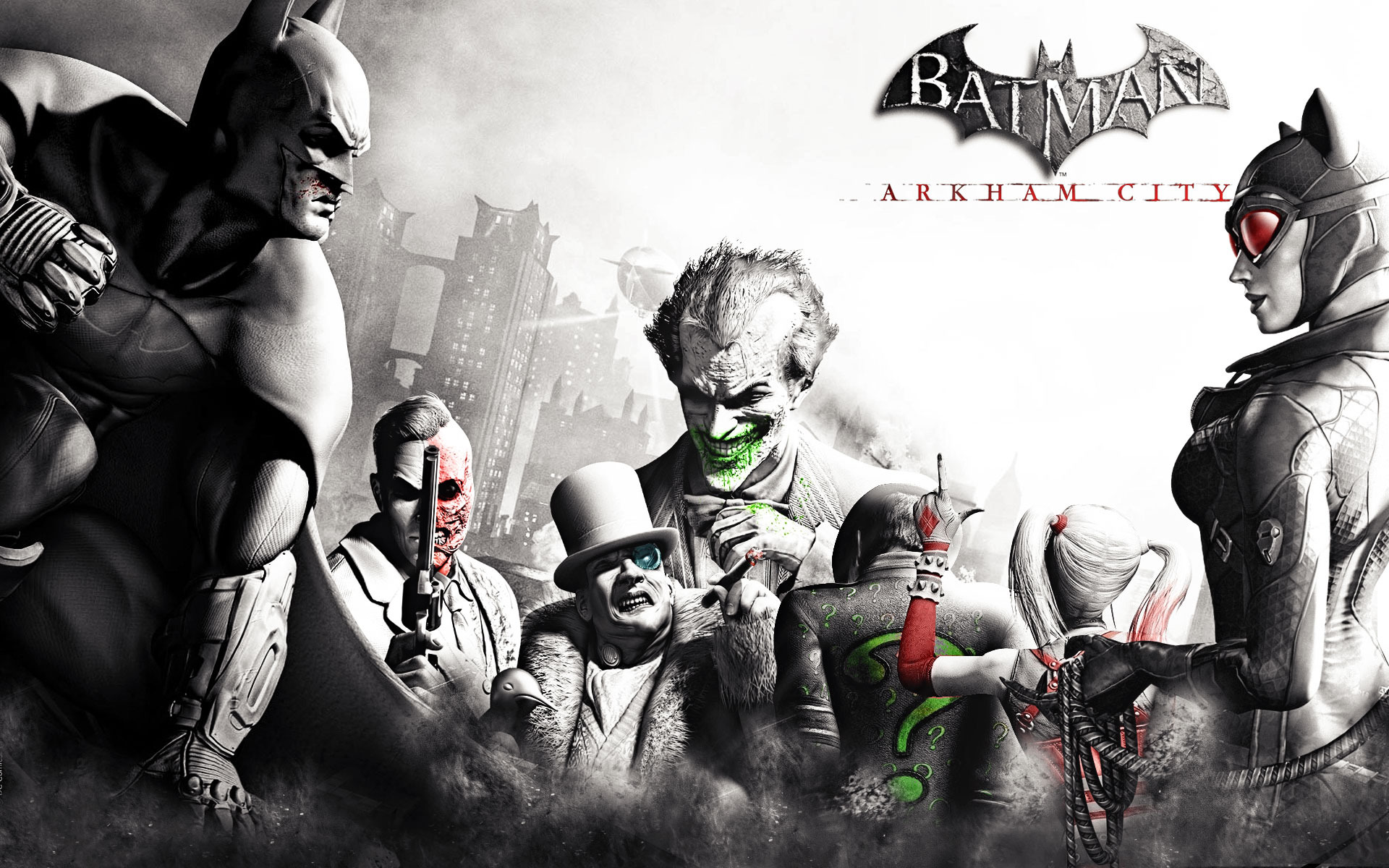 Batman: Arkham City [Wallpapers 1920x1080]