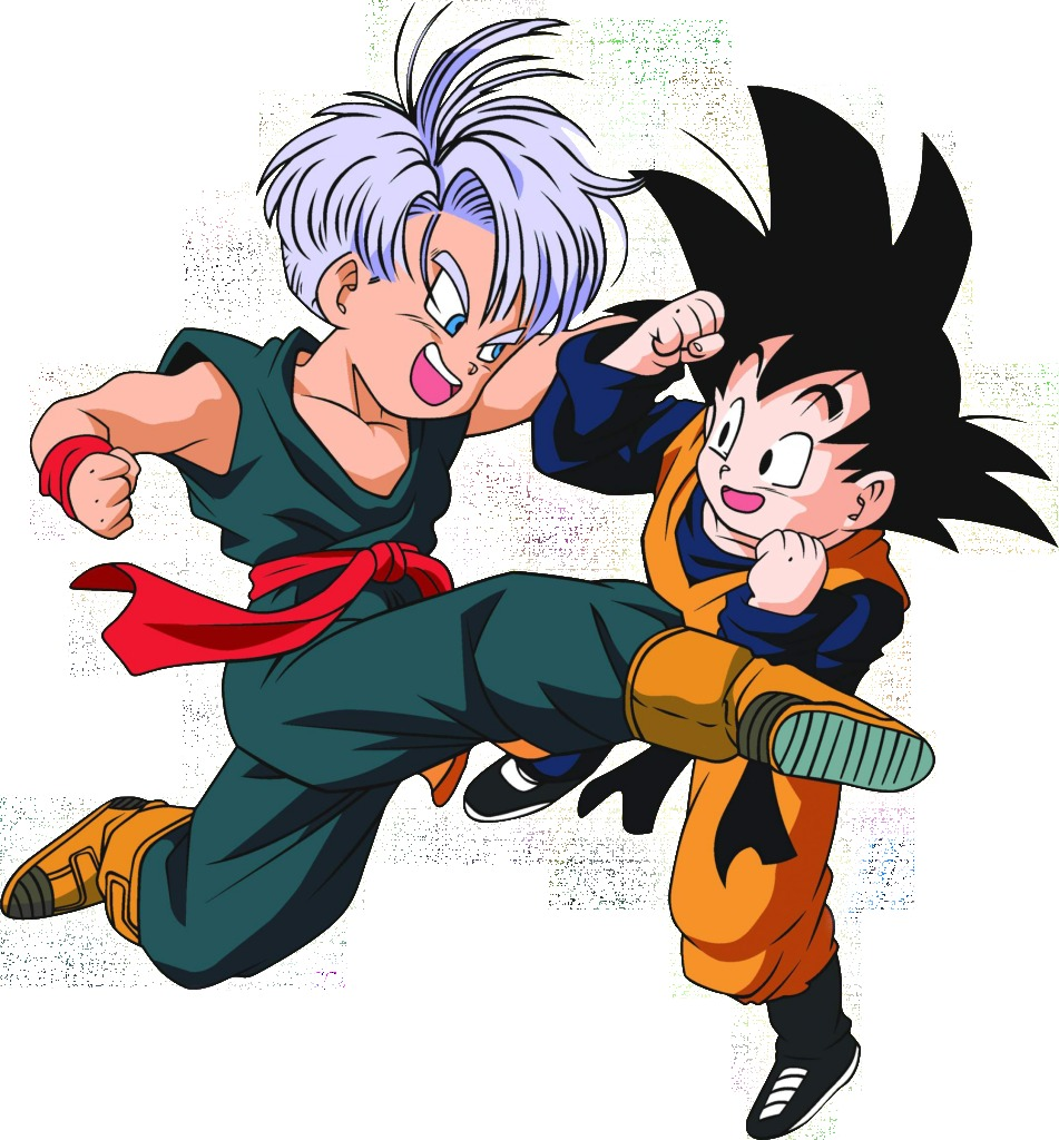 Imagenes de Trunks y Goten