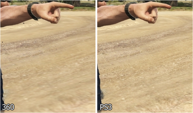 GTA V PS3 vs X360 (Comparativa) Digital Foundry