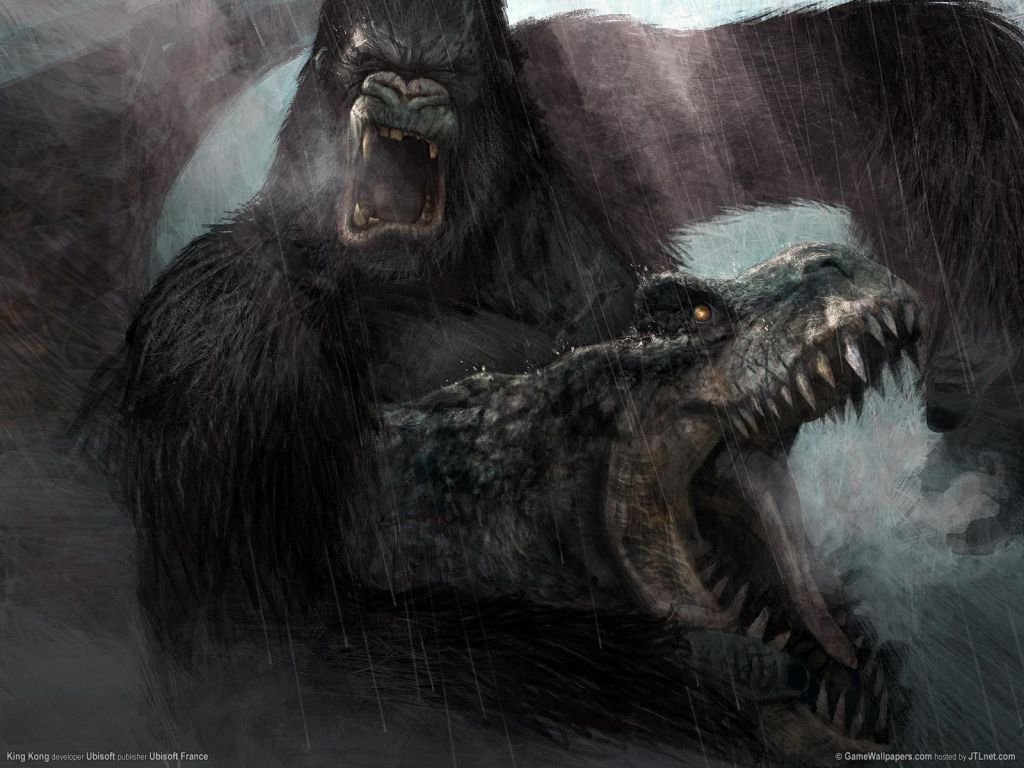 King kong vs los t rex 20 wallpapers im genes taringa - King kong 2005 hd wallpapers ...