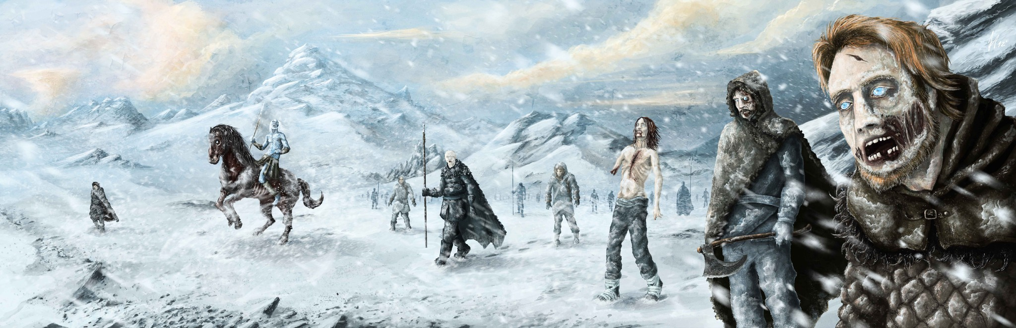 White Walkers Hechos Por Mi En Ps Game Of Thrones Co